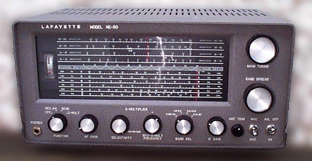 Lafayette KT-320 Shortwave Radio